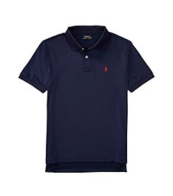 Polo Ralph Lauren® Boys' 2T-20 Short Sleeve Solid Knit Top