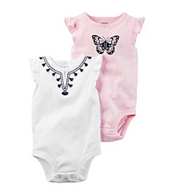 Carter's® Baby Girls' 2-Pack Bodysuit Set