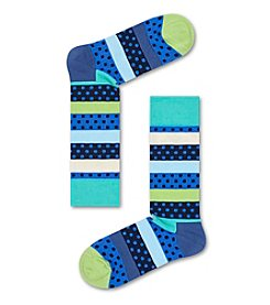 Happy Socks® Men's Dot Strip Dress Socks