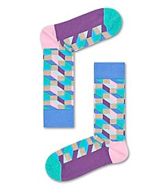 Happy Socks® Men's Pastel Optic Dress Socks