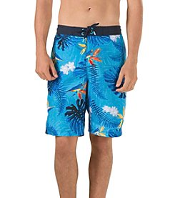 Speedo® Men's Paradise Floral E-Board Shorts