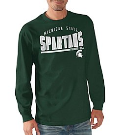 G-III NCAA® Michigan State Spartans Men's Playbook Long Sleeve Tee