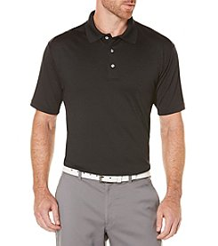 PGA TOUR Men's Motionflux Ribbed Collar Polo