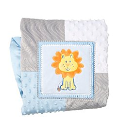 Cuddle Bear® Baby Boys Lion Blanket