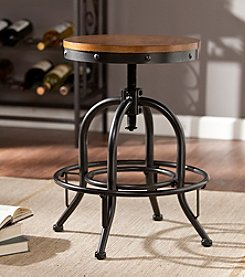 Southern Enterprises Industrial Adjustable Stool