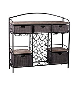 Southern Enterprises Javu Wine Storage Console