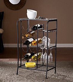 Southern Enterprises Marengo Wine Rack Storage Table