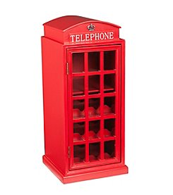 Southern Enterprises Phone Booth Wine Cabinet