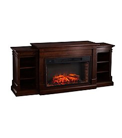 Southern Enterprises Reese Widescreen Electric Fireplace with Bookcases