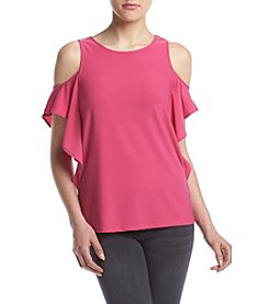 Kensie® Cold-Shoulder Top