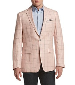 Tallia Orange Men's Windowpane Sport Coat