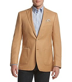 Tallia Orange Men's Sharkskin Sport Coat
