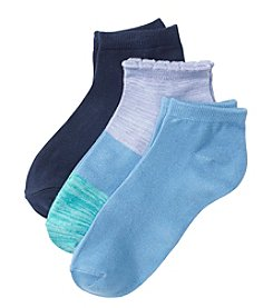 Relativity® 3-Pack Colorblock Socks