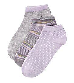 Relativity® 3-Pack Space Dyed Socks