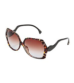 Jessica Simpson Rectangle Sunglasses