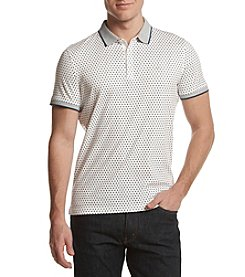 Michael Kors® Men's Double Square Print Polo Shirt