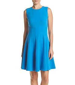 Tommy Hilfiger® Scuba Fit And Flare Dress