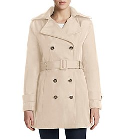 Calvin Klein Notch Collar Trench Coat