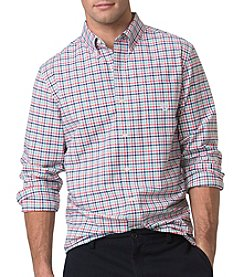 Chaps® Men's Long Sleeve Woven Multicheck Button Down