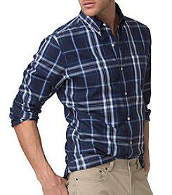 Chaps® Men's Long Sleeve Woven Button Down Shirt