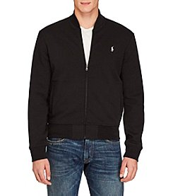 Polo Ralph Lauren® Men's Double Knit Long Sleeve Knit Bomber Jacket