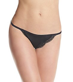 Calvin Klein Sheer Marquisette Lace String Thong