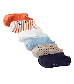 HUE® Cotton Liner Socks