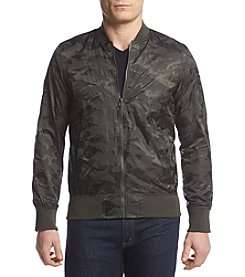 Distortion® Men's Camo Nylon Bomber Jacket