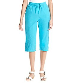 Breckenridge® Button Hem Sheeting Capri