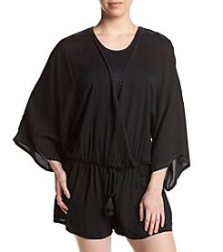 Vince Camuto® Studded Cover Up Romper