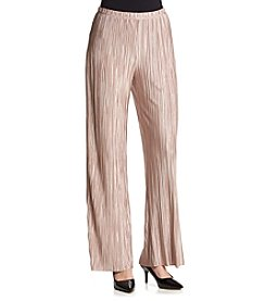 MSK® Pleated Border Pants
