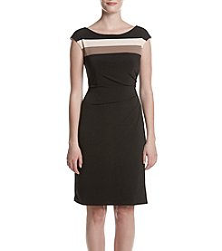 Connected® Colorblock Sheath Dress