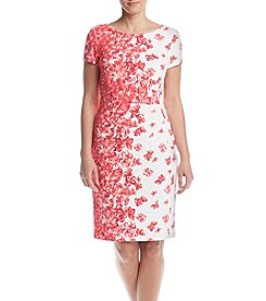 Jessica Howard® Floral Rain Sheath Dress