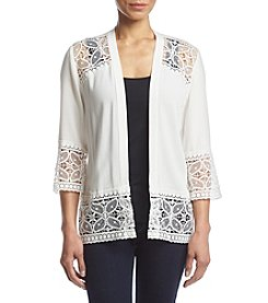 Studio Works® Petites' Lace Trim Jacket