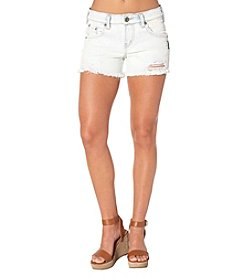 Silver Jeans Co. Fray Hem Boyfriend Shorts