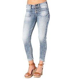 Silver Jeans Co. Elyse Chop Pocket Crop Jeans