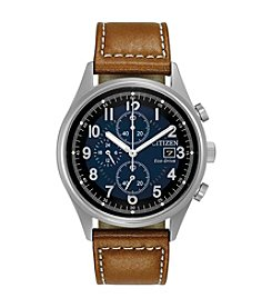 Citizen® Men's Eco-Drive Stainless Steel Chandler Watch