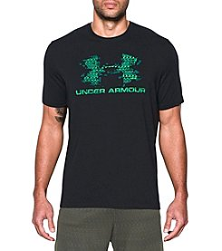 Under Armour® Men's Sportstyle Blow Out Logo Short Sleeve Tee