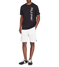 Polo Sport® Men's Textured Jersey Athletic Shorts
