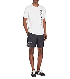 Polo Sport® Men's Poly Coreshrt Dobby Athletic Shorts