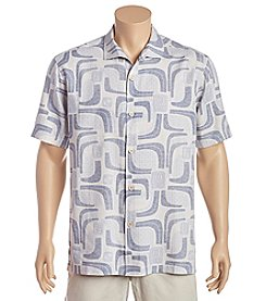 Tommy Bahama® Men's Miles Of Tiles Short Sleeve Button Down Shirt