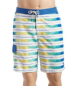 Tommy Bahama® Men's Baja Aquarela Stripe Swim Trunks