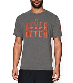 Under Armour® Men's Never Count Me Out Wordmark Short Sleeve Tee