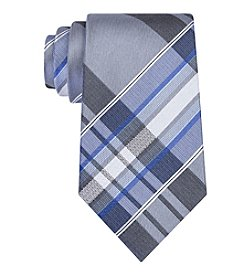Kenneth Cole REACTION® Men's Aquamarine Plaid Tie