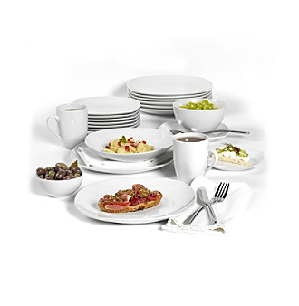 sc 1 st  Bon-Ton & Tabletops Gallery® Quinto 60pc. Dinnerware Set | Younkers