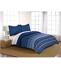 Living Quarters Tanja Aztec Reversible Microfiber Down-Alternative Comforter