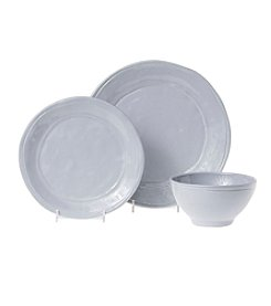 VIVA by Vietri Fresh Gray Dinnerware Collection