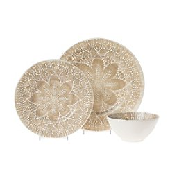 VIVA by Vietri Lace Natural Dinnerware Collection