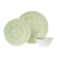 VIVA by Vietri Lace Pistachio Dinnerware Collection