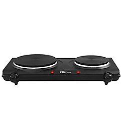 Elite Double Burner Cast Iron Hot Plate